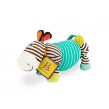 B.toys Tahací harmonika zebra Squeezy Zeeby
