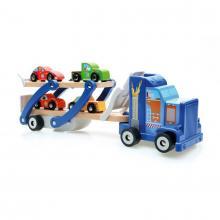 Scratch Dřevěný kamion s auty