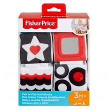 Mattel Fisher-Price Naučné měkké kostky