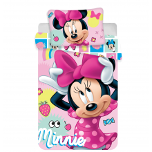 Jerry Fabrics povlečení do postýlky Minnie 072 sweet baby 135x100 cm