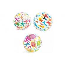 Intex nafukovací míč Holiday průhledný, 61 cm