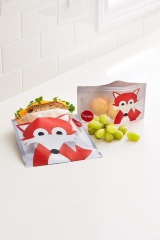 3 Sprouts Reusable Sandwich Bag 2-pack