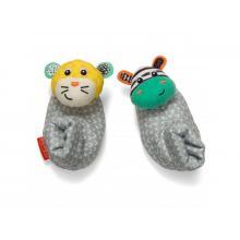 Infantino Chrastítka na nožičky Zebra & Tygr