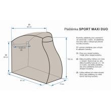 Emitex pláštěnka na kočárek Sport MAXI DUO