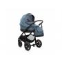 Kombinaci 2v1 tvoří podvozek, sedák, korbička, přebalovací taška, pláštěnka a moskytiéra na korbičku, nánožník na sportovní sezení, držák na pití a nákupní košík.