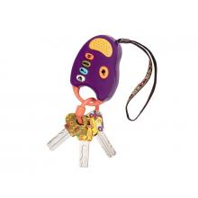 B-Toys Klíčky k autu FunKeys fialové