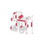V ceně kočárku je: podvozek, hluboká korba, sportovní nástavba, nánožníky (na hlubokou korbu, na sportovní nástavbu), taška na rukojeť, držák na pití, pláštěnka (na hlubokou korbu, na sportovní nástavbu), moskytiéra a nákupní košík + autosedačka Camarelo Kite včetně sluneční stříšky a nánožníku, adaptéry pro připevnění ke konstrukci kočárku. Kombinovaný dětský kočárek Camarelo Pireus 2017-2018 je novinkou pro letošní a následující sezónu s odlehčenou hliníkovou konstrukcí s velmi bohatou výbavou.