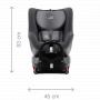 Autosedačka vhodná od narození do 4 let (0 - 18 kg). Instalace proti směru jízdy: 0-18 kg. Instalace po směru jízdy: 9-18 kg.