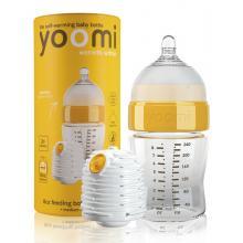 Yoomi 8oz Bottle/Warmer/Teat - Y18B1W