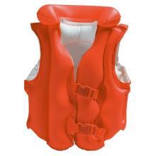 INTEX Vesta nafukovací 50x47cm, 3-6 let červená