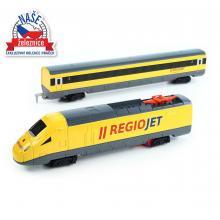 Rappa Naše Železnice - vlak RegioJet se zvukem a světlem