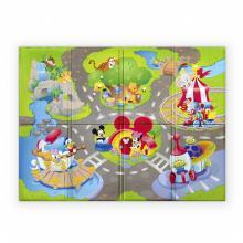 Disney baby Podložka pěnová skládací Disney Pals 120 x 89 cm