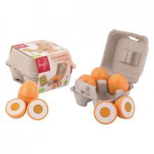 Jouéco dřevěný vaječný set 9ks 24m+