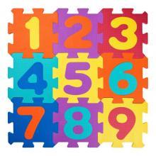 Plastica Pěnové Puzzle Čísla 32x32 cm, 18 ks