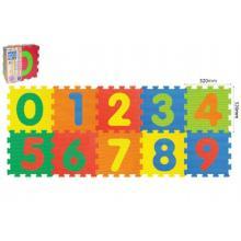 Wiky Pěnové puzzle Číslice 30x30 cm, 10 ks