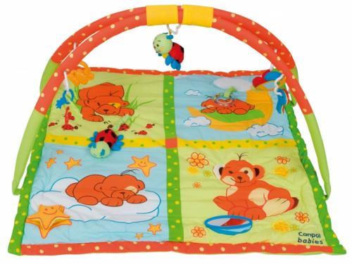 Canpol babies hrací deka s hrazdičkou méďa