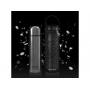 Vakuová termoska Miniland DeLuxe je vyrobena z vysoce kvalitní dvoustěnné oceli, udrží teplotu nápoje až 24 hodin.