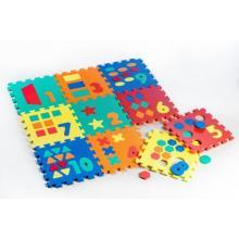 Wiky Pěnové puzzle Počítání/Tvary 30x30 cm, 10 ks
