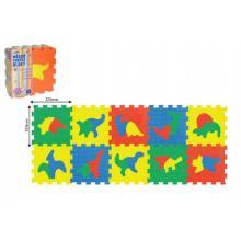 Wiky Pěnové puzzle Dinosauři 30x30 cm, 10 ks