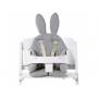 Originální sedací podložka s oušky do jídelní židličky, houpacího lehátka i kočárku.