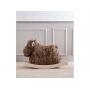 Originální houpací los s jemnou měkkou srstí.