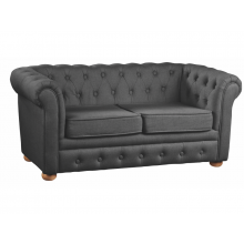 Kids Concept Pohovka Chesterfield Dark Grey
