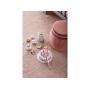 Narozeninový dort s vyjímatelnými svíčkami v krásném dřevěném provedení s příslušenstvím.