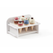 Kids Concept Zmrzlina dřevěná se stojanem Bistro