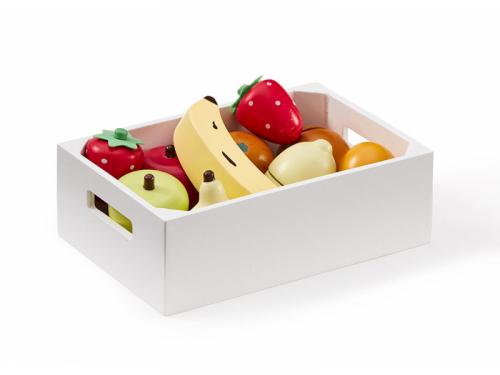 Kids Concept Ovoce v bedýnce dřevěné Bistro