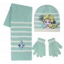 Cerdá Sada šála, rukavice, čepice - Ledové království modrá