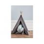 Jednoduchý mini stan v podobě teepee.
