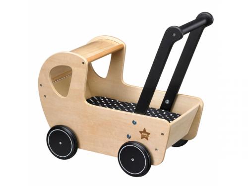 Kids Concept Kočárek dřevěný Neo natural