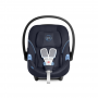 Autosedačka vhodná od narození až do cca 18 měsíců (Sk. 0+, 0 - 13 kg). Aton M nabízí vyjímatelnou vnitřní vložku, která zajišťuje téměř zcela plochou pozici pro předčasně narozené děti a novorozence. Společně s energii absorbující skořepinou a L.S.P. systémem napomáhá tato autosedačka k ochraně Vašeho dítěte. Výškově nastavitelná opěrka hlavy, měkce polstrovaný systém pásů a XXL sluneční stříška zaručují pohodlné cestování.