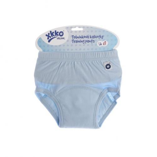 KIKKO Tréninkové kalhotky XKKO Organic - Baby Blue