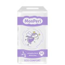 MonPeri Dětské pleny ECO comfort L (8-12 kg) 50 ks