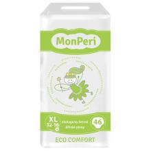 MonPeri Dětské pleny ECO comfort XL (12-16 kg) 46 ks