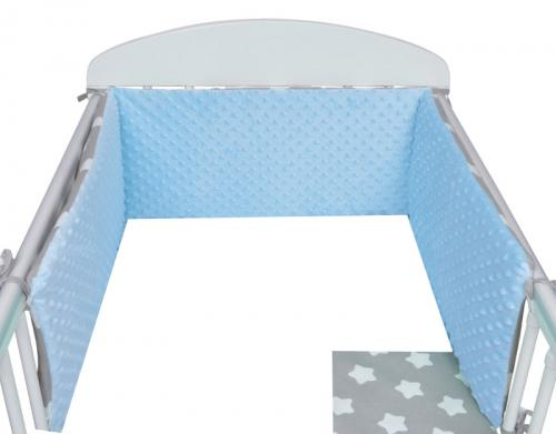 Depemo Tomi Mantinel (hnízdo) Minky hvězdy modré 180 cm