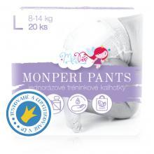 MonPeri kalhotky Pants L (8-14 kg) 20 ks