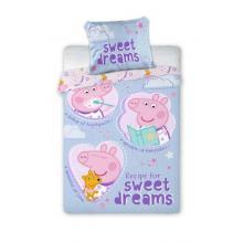 Faro povlečení do postýlky Peppa Pig sladké sny 135x100 cm