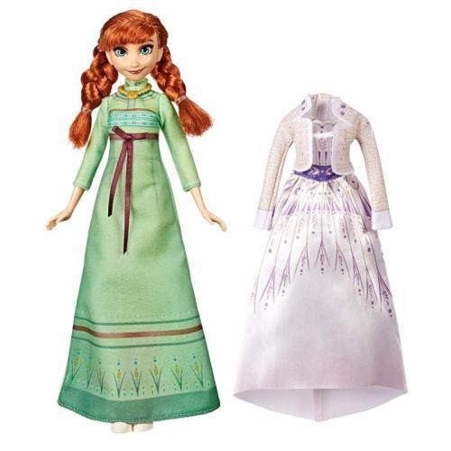 Hasbro Frozen 2 Panenka Anna s extra šaty