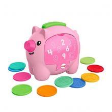 Mattel Fisher-Price Prasátko kasička CZ