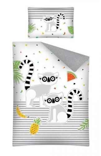 Detexpol povlečení do postýlky Lemur 135x100 cm