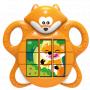 Puzzle liška rozvíjí jemnou motoriku, logiku a zvídavost. Puzzle vydává 8 náhodných zvuků a jednu příjemnou melodii.