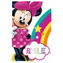 Euroswan Fleece deka Minnie Smile 100x150 cm