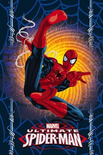 Jerry Fabrics Fleece deka Spiderman 100x150 cm