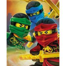 Halantex Fleece deka Lego Ninjago 100x150 cm