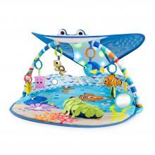 Bright Starts Deka na hraní světelná Hledá se Nemo - Pan Rajka 0m+