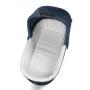 Modulární systém v přímočarém stylu s moderním designem a šířkou podvozku pouhých 51 cm. Modulární systém obsahuje: Futura podvozek, Futura korbičku, Pop-Up sportovní nástavbu, Primo Viaggio SL autosedačku.