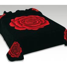 Scarlett Španělská deka 234 - černá, 240x220 cm