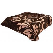 Scarlett Španělská deka 278 - hnědá, 240x220 cm